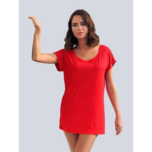 alba moda Strandshirt Alba Moda Rot
