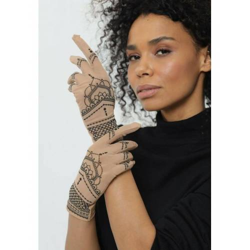 BRIKOLY Handschuhe mit Mandala BRIKOLY hautfarben