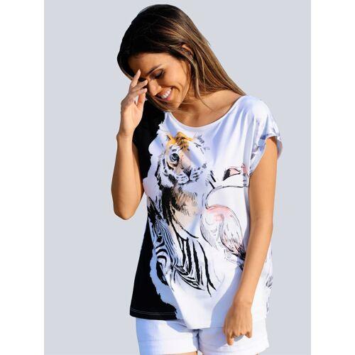 alba moda Strandshirt Alba Moda Weiß
