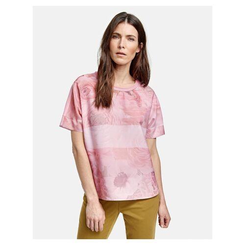 Gerry Weber Shirt mit Rosenmuster Gerry Weber Lila/Pink Druck