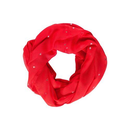cecil Loop mit Folien Print Cecil poppy red
