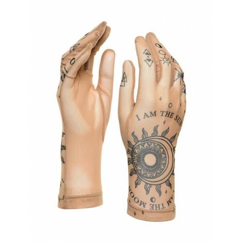 BRIKOLY Handschuhe mit dem Mond BRIKOLY hautfarben