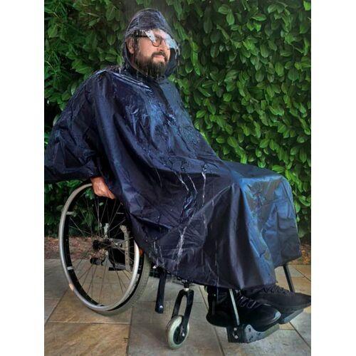 Wellys Rollstuhl-Regencape Wellys Blau