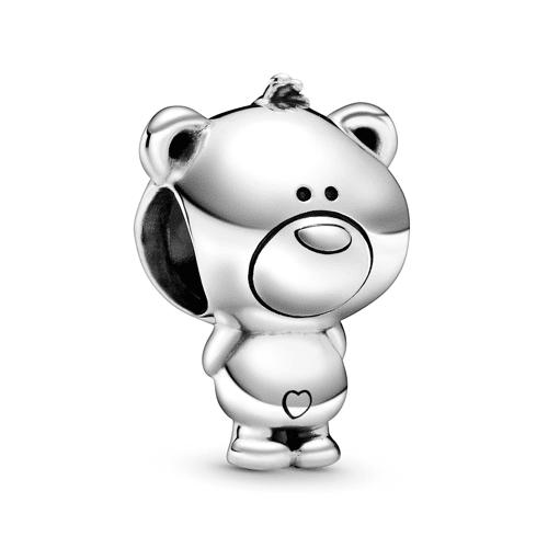 Pandora Charm - Theo, der Teddybär - Pandora Silberfarben