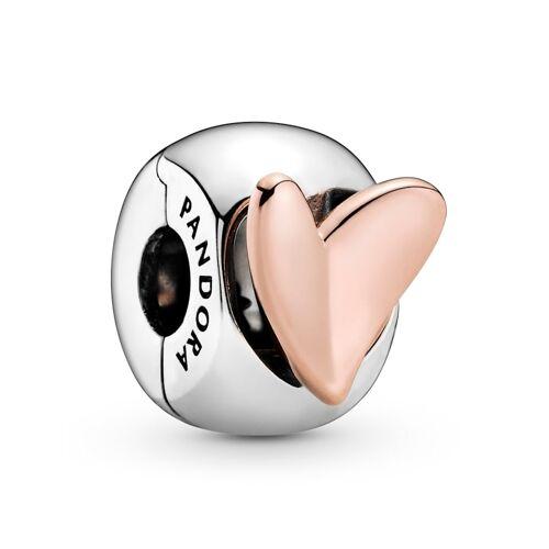 Pandora Clip-Charm - Freihand-Herz - Pandora Rosé