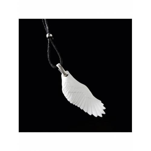 Kaiser Porzellan Halskette Flügel Kaiser Porzellan weiß