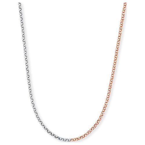 Engelsrufer Damen-Kette 925er Silber Engelsrufer silber/rosé