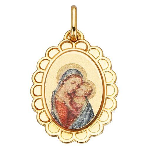 KLiNGEL Anhänger Maria mit Kind KLiNGEL Gelb