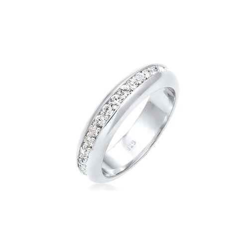 Elli Premium Ring Cocktail Bandring Kristalle 925 Silber Elli Premium Silber