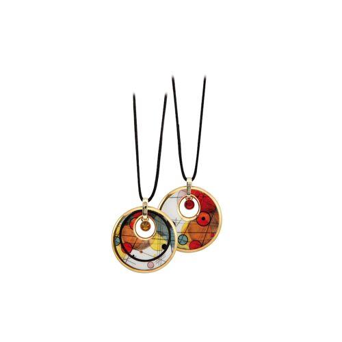 Goebel Halskette Wassily Kandinsky - Kreise im Kreis Goebel Kandinsky - Kreise