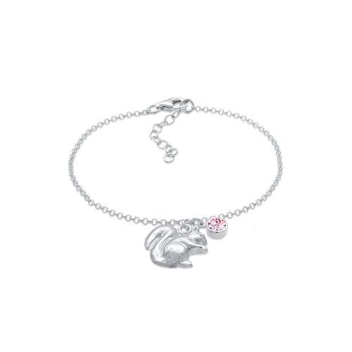 Elli Armband Eichhörnchen Wiesn Kristalle 925 Silber Elli Silber