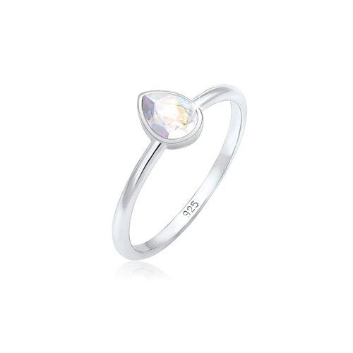 Elli Ring Tropfen Kristalle Elegant 925 Silber Elli Silber