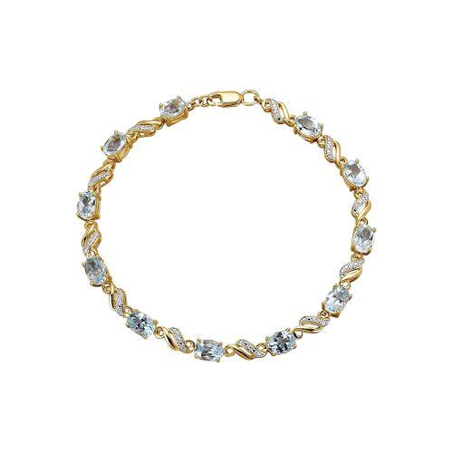 KLiNGEL Armband mit Blautopas KLiNGEL Blau