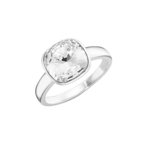 Smart Jewel Ring Kristall Stein, Silber 925 Smart Jewel Weiss