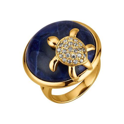 KLiNGEL Schildkröten-Ring KLiNGEL Blau