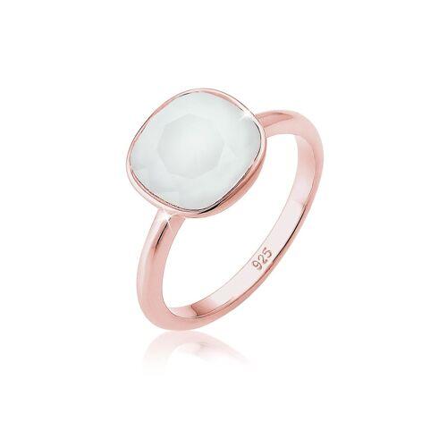 Elli Ring Kristalle 925 Silber Geschenkidee Elli Grau