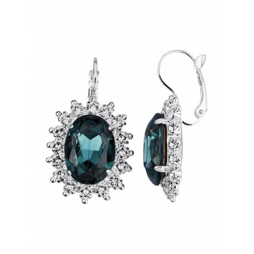 Golden Style Ohrringe mit Kristallen Golden Style Blau