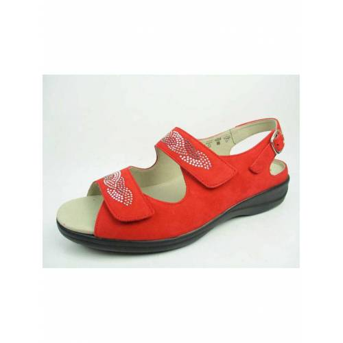 Solidus Sandalen/Sandaletten Solidus rot