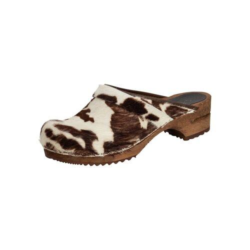 Sanita Gartenclogs Damen Clog Sanita brown cow