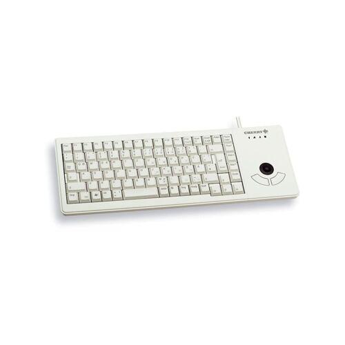 Cherry Tastatur XS Trackball Keyboard G84-5400 CHERRY Grau