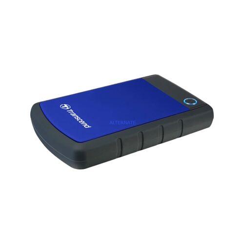 Transcend Festplatte StoreJet 25H3B 2 TB Transcend Blau
