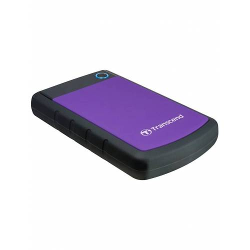 Transcend Festplatte StoreJet 25H3P 2 TB Transcend Lila
