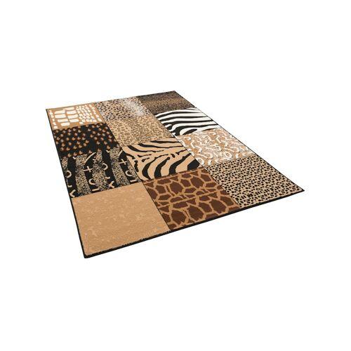 Pergamon Trendline Teppich Afrika Patchwork Pergamon Beige