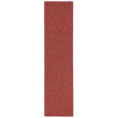 Snapstyle Läufer Teppich Schlingen Teppich Alma Meliert Snapstyle Rot