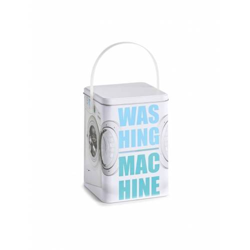 "HTI-Living Waschpulver-Box, Metall ""Washing Machine"" HTI-Living Bunt"