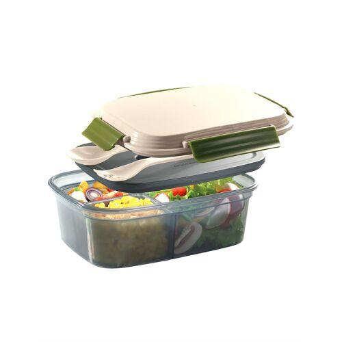 Cilio Lunch box 'COOL' Cilio beige/grün