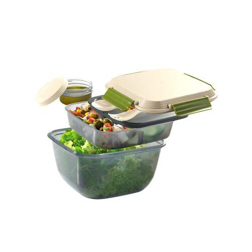 Cilio Lunch box 'FRESH' Cilio beige/grün