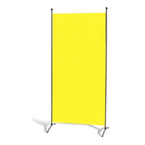 Grasekamp Stellwand 85 x 180 cm - Gelb - Paravent  Raumteiler Trennwand Sichtschutz Grasekamp Gelb