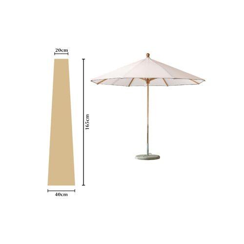 Grasekamp Schutzhülle Sonnenschirm bis ca. 300 cm  Ø Länge 165 cm Beige Grasekamp Beige