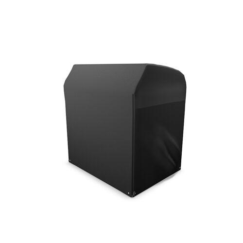 Grasekamp Black Premium Strandkorbhülle L  119x106x160cm / beach chair cover /  atmungsaktiv / breathable Grasekamp Schwarz