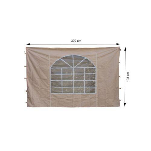 Grasekamp 2 Seitenteile 300x193cm zu Sahara  3x3m Sichtschutz Sonnenschutz Windschutz Grasekamp Beige