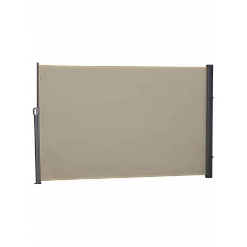 Outsunny Seitenmarkise 3 x 1,8 m Outsunny beige