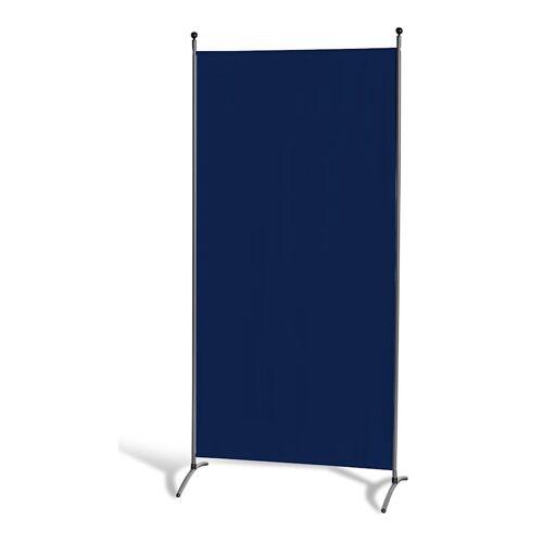 Grasekamp Stellwand 85 x 180 cm - Blau - Paravent  Raumteiler Trennwand Sichtschutz Grasekamp Blau