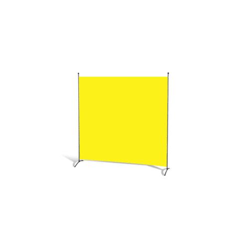 Grasekamp Stellwand 180 x 180 cm - Gelb - Paravent  Raumteiler Trennwand Sichtschutz Grasekamp Gelb