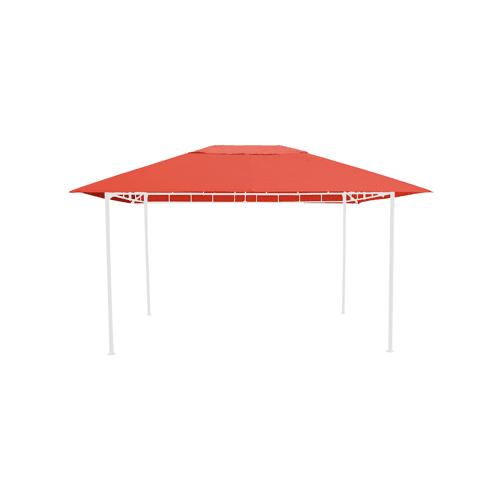 Grasekamp Ersatzdach zu Gartenpavillon Antik  Pavillon Partyzelt 3x4m Terra Grasekamp Orange