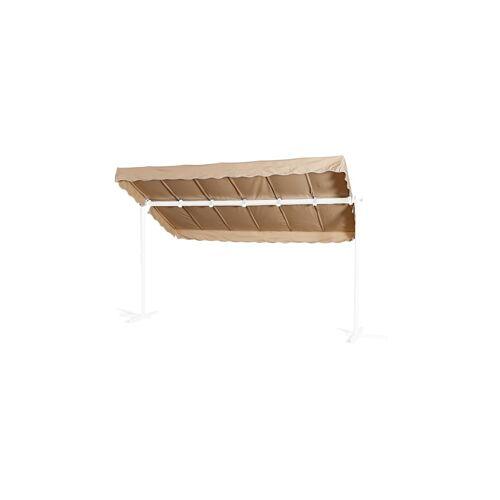 Grasekamp Ersatzdach Standmarkise Dubai Sand  Raffmarkise Ziehharmonika Mobile Markise Grasekamp Beige