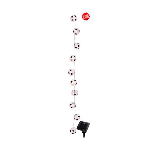 Näve Solarlichterkette 'Fußball' Näve Weiß