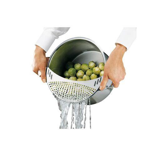 Küchenprofi Abgieß-Sieb Länge 33,4 cm Küchenprofi Silber