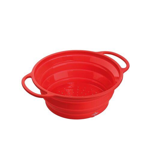 Küchenprofi Seiher, faltbar Trend Küchenprofi Rot