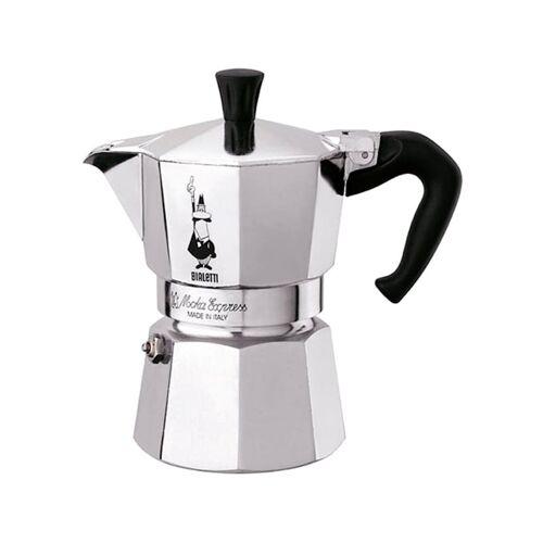 Bialetti Espressomaschine Moka Express BIALeTTI Silber