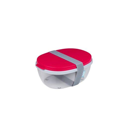 Rosti Mepal Frischhaltebox Salatbox Ellipse Rosti Mepal Nordic Red