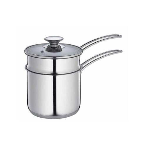 Küchenprofi Wasserbad-Topf COOK Küchenprofi Silber