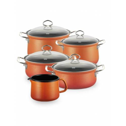 Riess Topfset Familienset 5-teilig CORALL Riess Corall