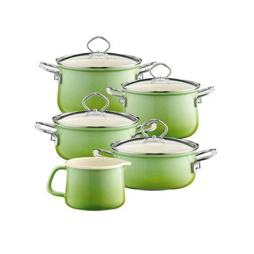 Riess Topfset Familienset 5-teilig SMARAGD Riess Smaragd