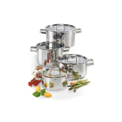 Küchenprofi Topf-Set 4-teilig San Remo Cook Küchenprofi Silber