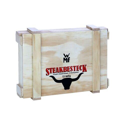 WMF Besteck Steakbesteck-Set Nuova, 12-teilig WMF Silber